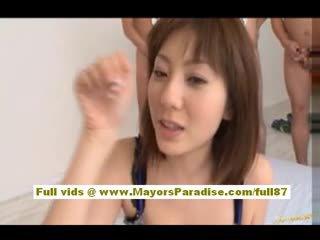 Yuma asami אסייתי בייב gives an מדהימה מציצות