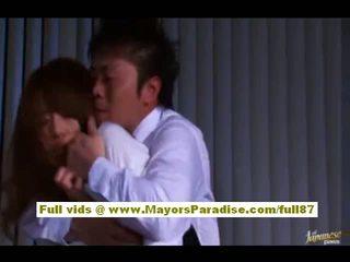 Akiho yoshizawa kinesisk jente gets misbrukt ved arbeid