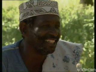 africano, ao ar livre, jungle