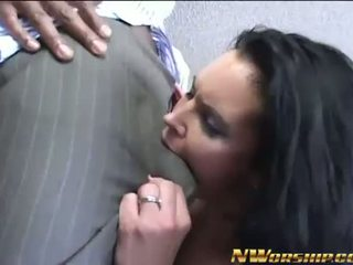 brunette, big dick, assfucking