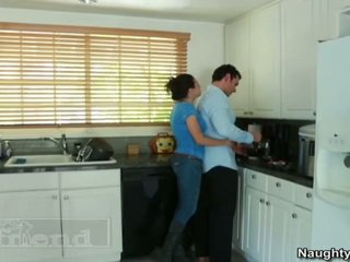 To titted cô gái tóc vàng tasha reign acquires cô ấy pal husbands oustanding sausage