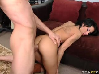 Chick Gets Her Ass Fucked By Two Dicks
