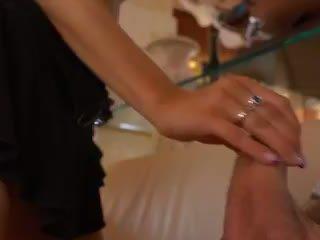 Sexy Blonde Mia Magma Taking Two Cocks Video
