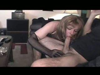 sesso orale, crossdresser, biancheria intima