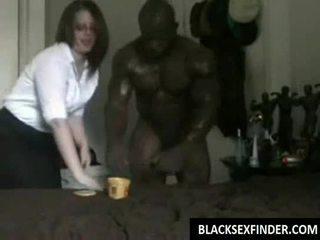 Σχολείο φοιτήτρια fucks μαύρος/η 10 inch καβλί