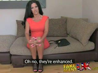 FakeAgentUK Fake tan fake tits fake agent