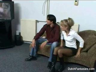 Holländska soffan kön lång