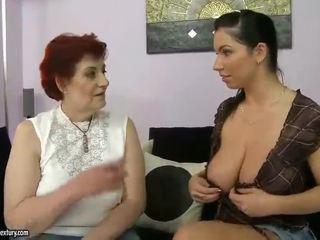 Fat Grandma And Busty Teen Appreciatin...