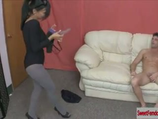Hot Girls Fucking Guys with Strapons FEMDOM PEGGING PANTYHOSE ANAL