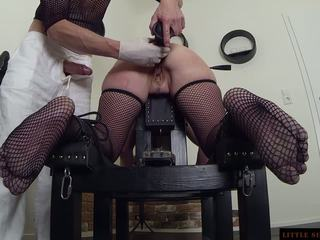 Bdsm analno suženj double usposabljanje od the littel sunshine milf