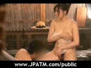 Público sexo japón asiática chicas exposing al aire libre movie18