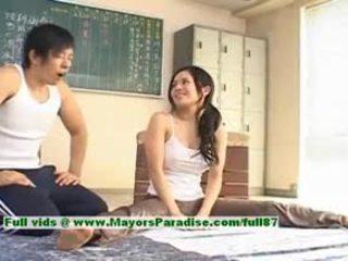 Sora aoi ร้อน หญิง น่ารัก คนจีน แบบ enjoys getting teased