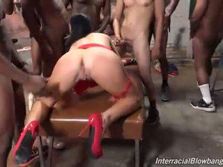sucking, oral, interracial