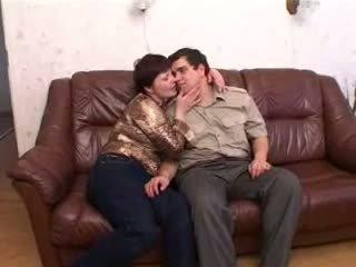 Fat Russian friend fucks his wife s BBW mom