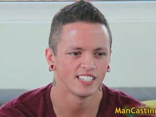 Y-ung cute guy Tyler blows hard gay tube