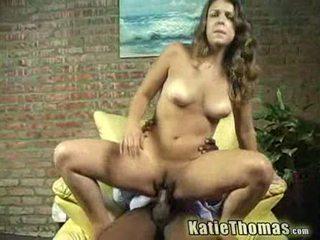 Katie gets slammed バイ a ブラック guy