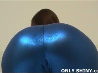 この タイト blue スパンデックス hugs 私の curves