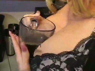 big boobs, orgasm, food
