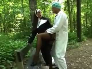 any babes see, watch outdoor, free nun you