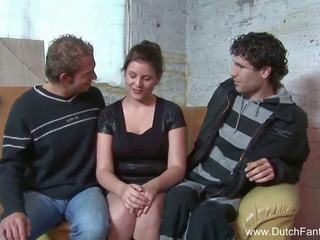Random belanda seks tiga orang di holland, gratis porno ea