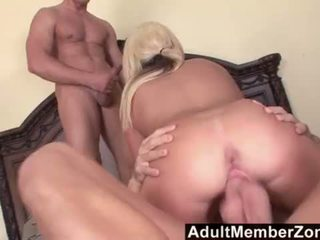 AdultMemberZone - Young Kendra Fucked by 2 Studs <span class=duration>- 12 min</span>