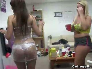 dorm room, naked, coeds
