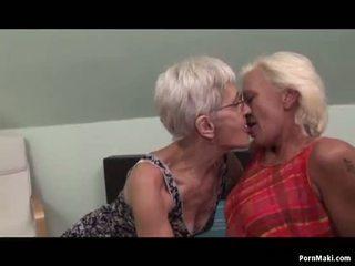 동성애의 할머니 having 재미