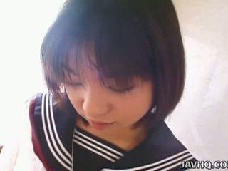 Japanese Schoolgirl Rino Sayaka...