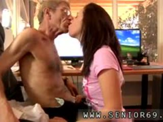 Young Guy Sucked And Cum Swallowed By Older Man But Anna Is
