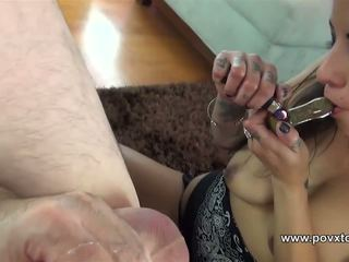 Smoking While Rimming and Sucking off a Guy: Free Porn 12