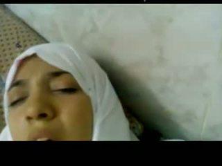 Wonderful egípcia arabic hijab gaja fodido em hospital -