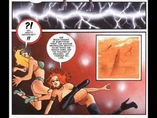 Fetish big boobs bondage comics
