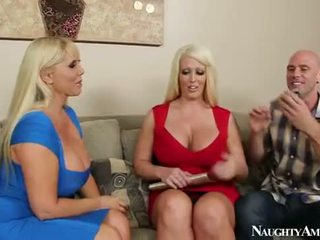 Karen fisher and alura jenson sharing a jago