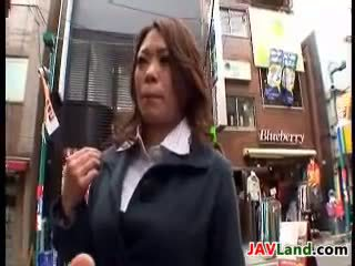 Sexy Japanese Mothers Being Naughty In A Van