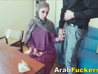Arab Girl Looking For Job Tricked Into Fucking