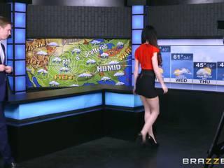 Brazzers - Kendall Karson fucks on set