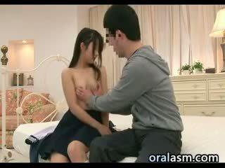 japonés, masaje, duro, peludo