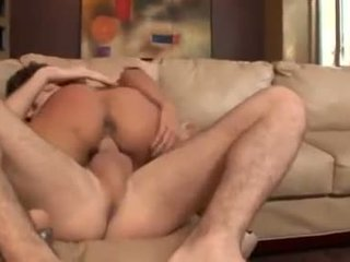 Randy Regan Reese gets her hole pumped by a big cock and a creamy mouthful