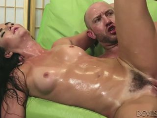 Hot Brunette Bianca Breeze Fucked Hard In Her Hairy Pussy