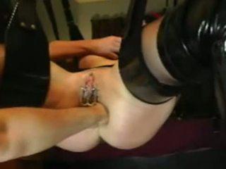anal, gape