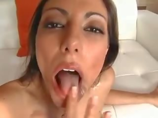 Lela and 10 inch of white cock