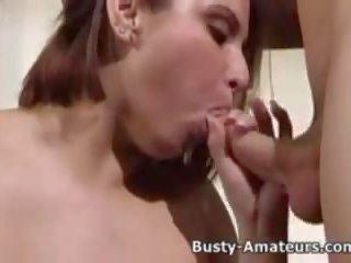 Buah dada besar helena getting rammed oleh untuk terangsang dude: gratis porno bb