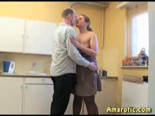 Sex in the Kitchen 3: Free MILF Porn Video
