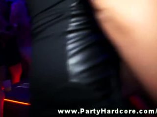Fucked on stage by a male stripper at a party