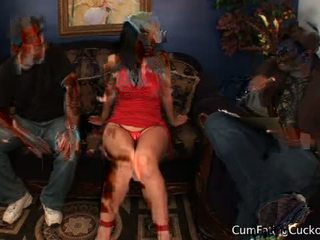 Luscious lopez で 精液 eating cuckolds