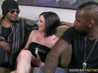 Veruca James gets Dpd and Gangbanged by Bbcs: Free Porn 56