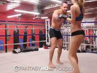 Hd fantasyhd - natalia starr wrestles viņai veids stāšanās jāšanās session