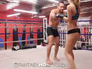 Hd fantasyhd - natalia starr wrestles su camino en joder session
