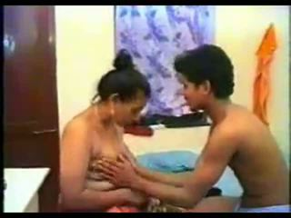 Indian Aunty Grape Massaged