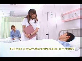 Akiho yoshizawa da idol69 birichina asiatico infermiera likes a fare pompino